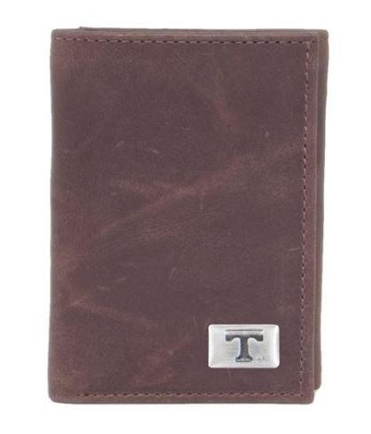 Tennessee Tri- Fold Leather Wallet