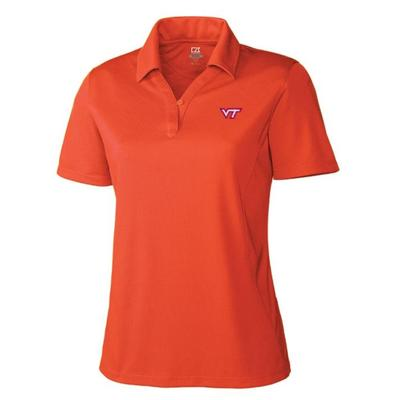 Virginia Tech Women's Cutter&Buck Genre DryTec Polo