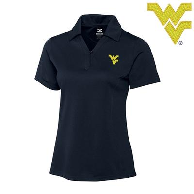 West Virginia Cutter and Buck DryTec Genre Polo