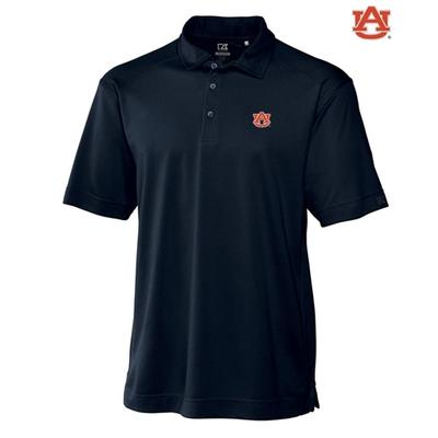 Auburn Cutter and Buck DryTec Genre Polo