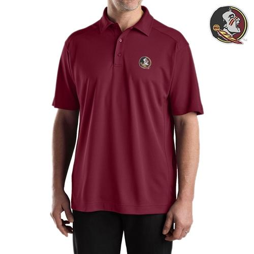 Florida State Cutter And Buck Drytec Genre Polo