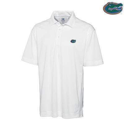 Florida Cutter and Buck DryTec Genre Polo WHITE