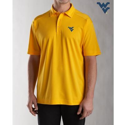 West Virginia Cutter & Buck DryTec Genre Polo