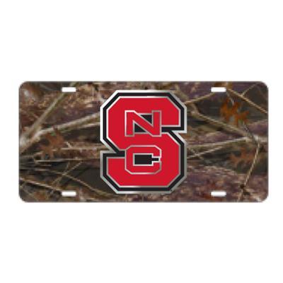NC State License Plate Camo