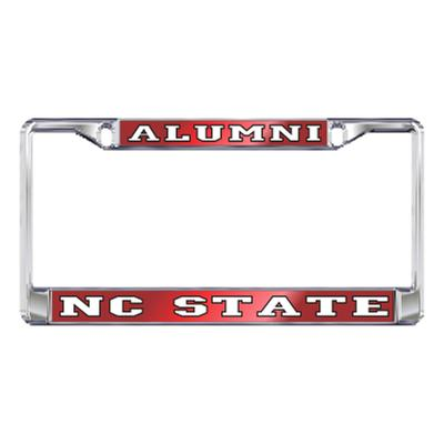 NC State License Plate Frame Alumni/NC State