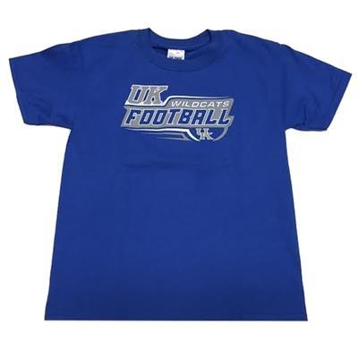 Kentucky Youth Speedy Football T-Shirt ROYAL