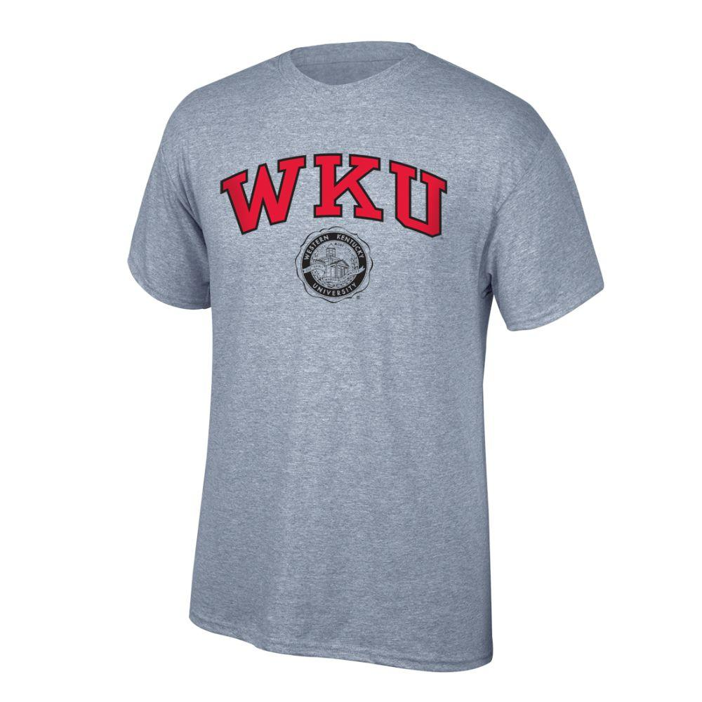 Western Kentucky Arch Logo With College Seal Tee Shirt