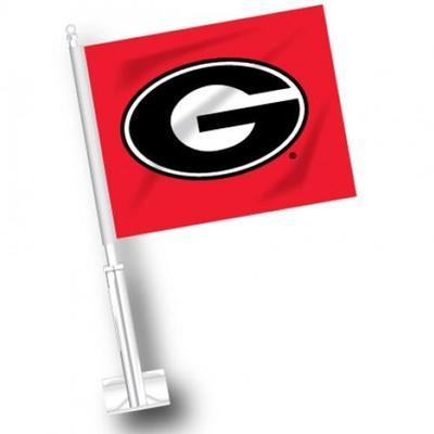 Georgia G Logo Car Flag