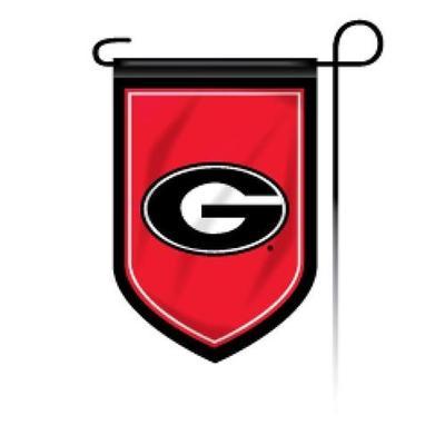 Georgia Shield Garden Flag