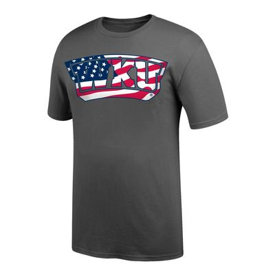Western Kentucky American Flag Fill T-shirt