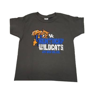 Kentucky Youth Pouncing Wildcat Tee