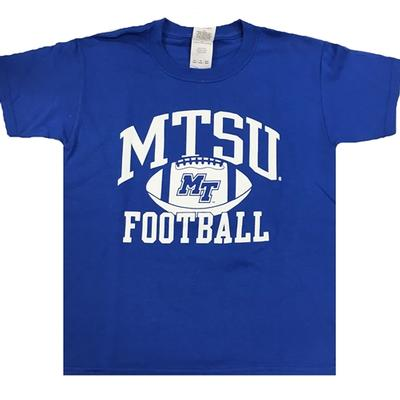 MTSU Youth Arch Football T-shirt