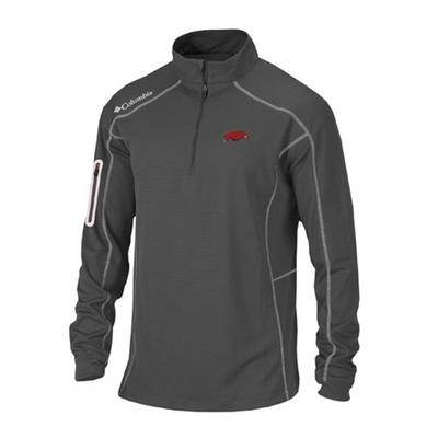 Arkansas Columbia Golf Shotgun 1/4 Zip Pullover