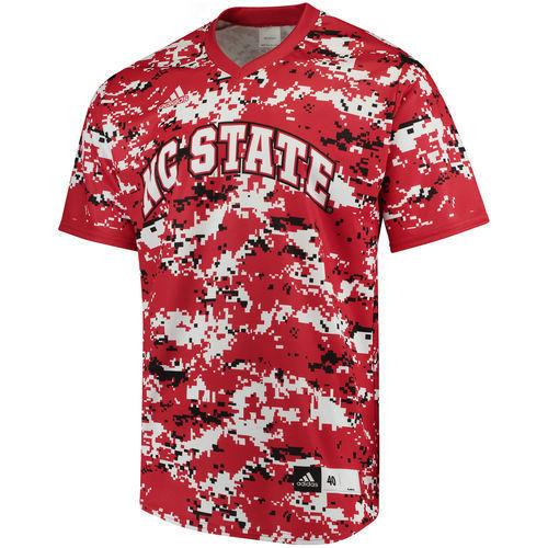 buy popular 12f35 c4a2b NC State Authentic Baseball Jersey (White)