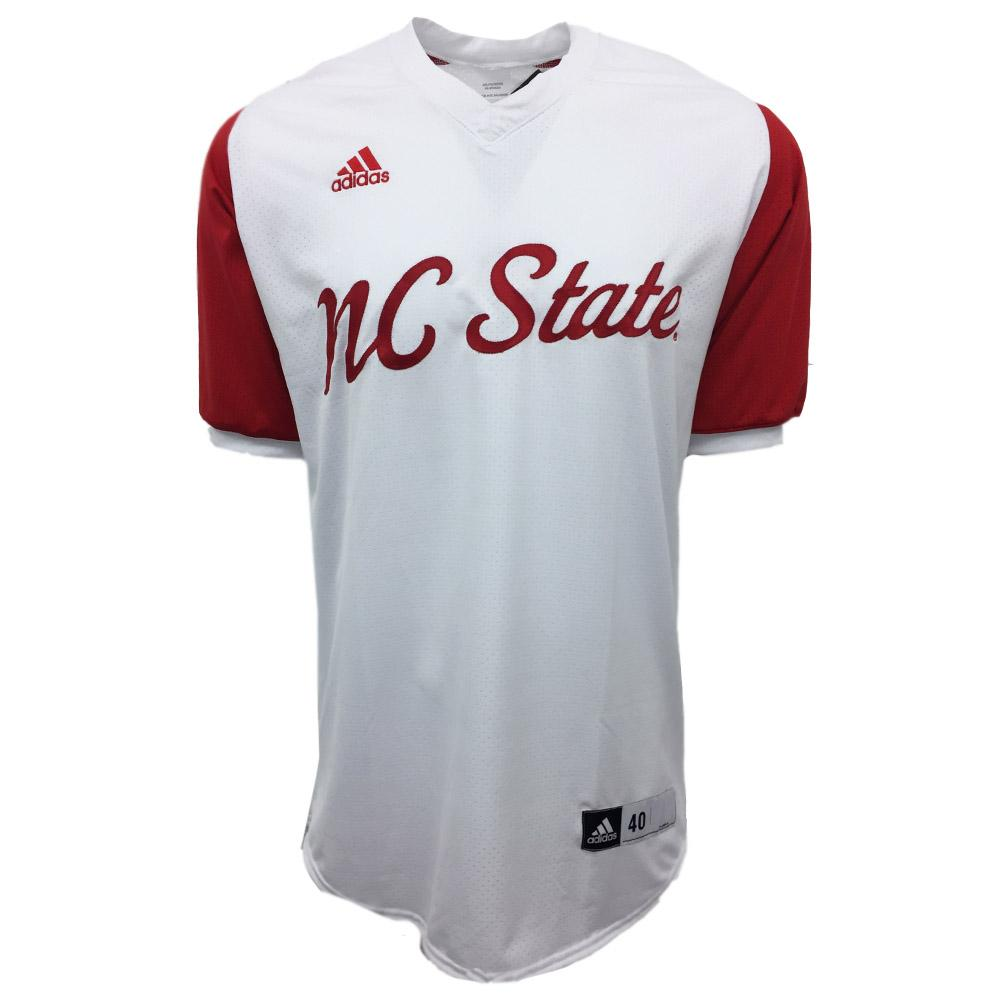 buy popular 5b79a 011ab NC State Authentic Baseball Jersey (White)