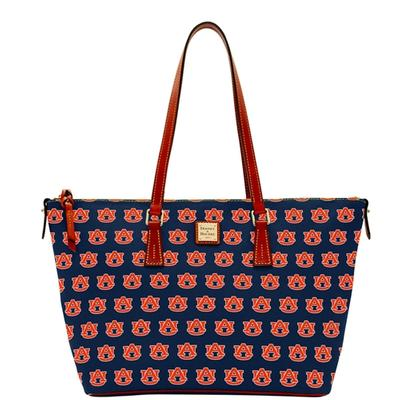 Auburn Dooney & Bourke Zip Top Shopper Tote