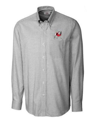 Georgia Cutter & Buck Tattersall Woven Shirt