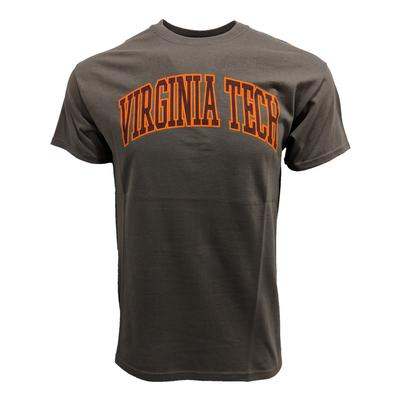 Virginia Tech Arch T-Shirt GRAPHITE