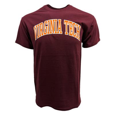 Virginia Tech Arch T-Shirt MAROON