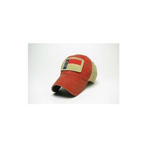 Nc State Legacy State Flag Meshback Adjustable Hat