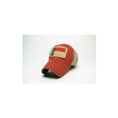 NC State Legacy State Flag Meshback Adjustable Hat