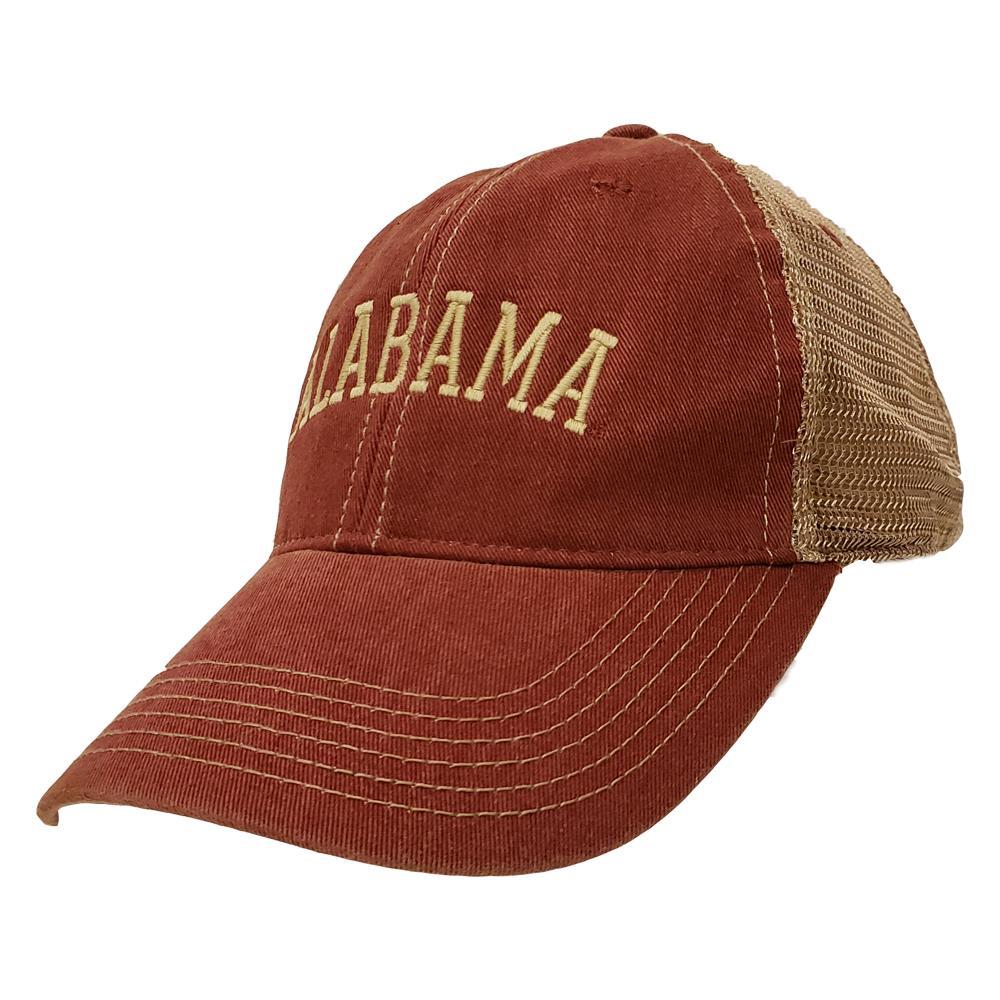 Alabama Legacy Trucker Arch Logo Hat