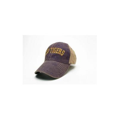 LSU Legacy Trucker Arch Logo Hat