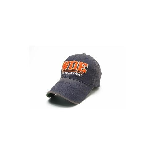 Auburn Legacy Split Line Solid Adjustable Hat