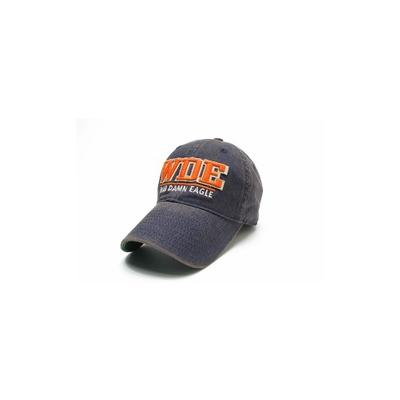 Auburn Legacy Split Line Solid Adjustable Hat NAVY
