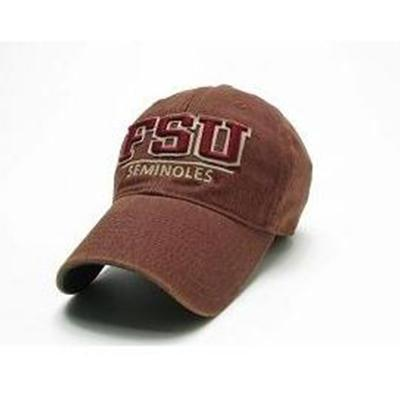 Florida State Legacy Split Line Solid Adjustable Hat