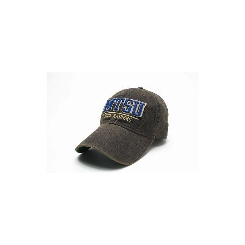Mtsu Legacy Split Line Solid Adjustable Hat