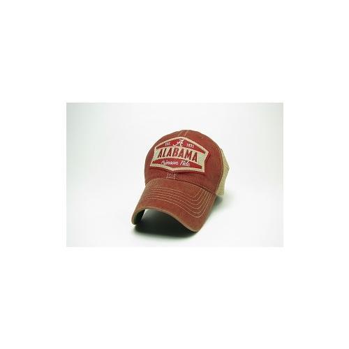 Alabama Legacy Wedge Meshback Adjustable Hat