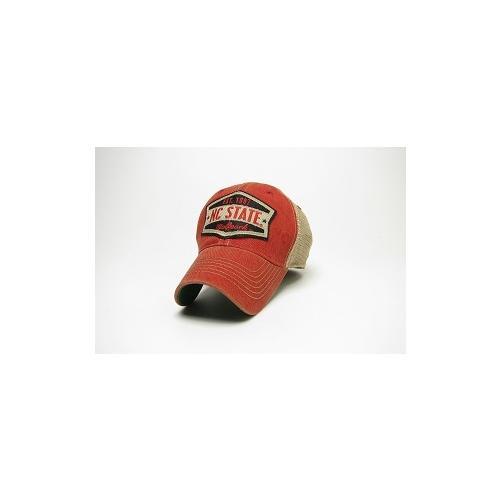 Nc State Legacy Wedge Meshback Adjustable Hat