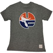 Florida Retro Brand Circle Uf T- Shirt