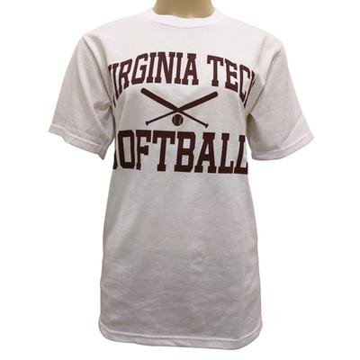 Virginia Tech Basic Softball T-Shirt