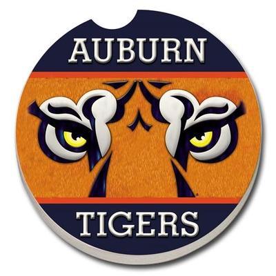 Auburn Tiger Eyes Car Coaster