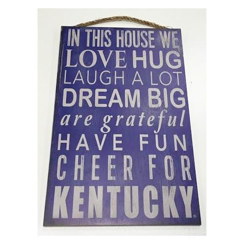 Kentucky In This House Sign (11