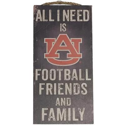 Auburn All I Need Sign