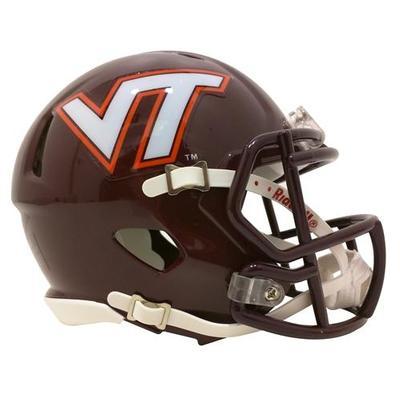 Virginia Tech Riddell Mini Helmet
