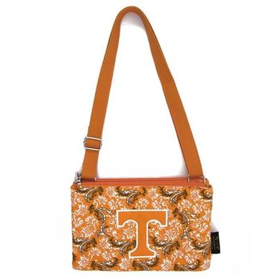 Tennessee Eagle Wings Bloom Crossbody Purse