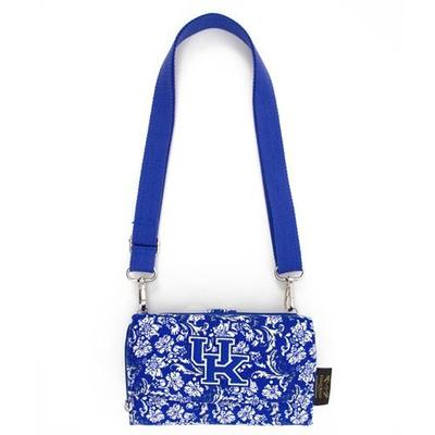 Kentucky Eagle Wings Bloom Crossbody Wallet