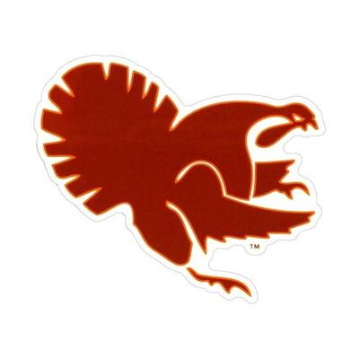 Virginia Tech Fighting Gobbler Decal (8in)
