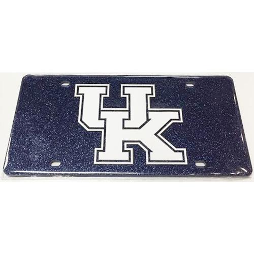 Kentucky Glitter License Plate (Royal)