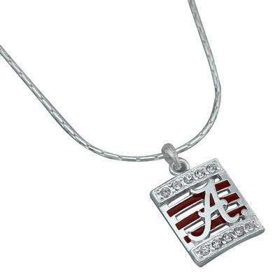 Alabama Square Stripe Necklace