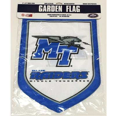 MTSU Shield Garden Flag