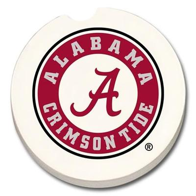 Alabama Circle Logo Car Coaster