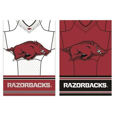 Arkansas Jersey Garden Flag