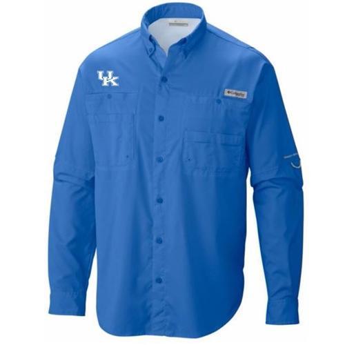 Kentucky Columbia Tamiami Long Sleeve Shirt
