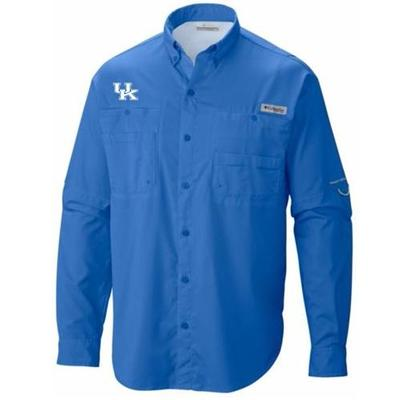 Kentucky Columbia Tamiami Long Sleeve Shirt