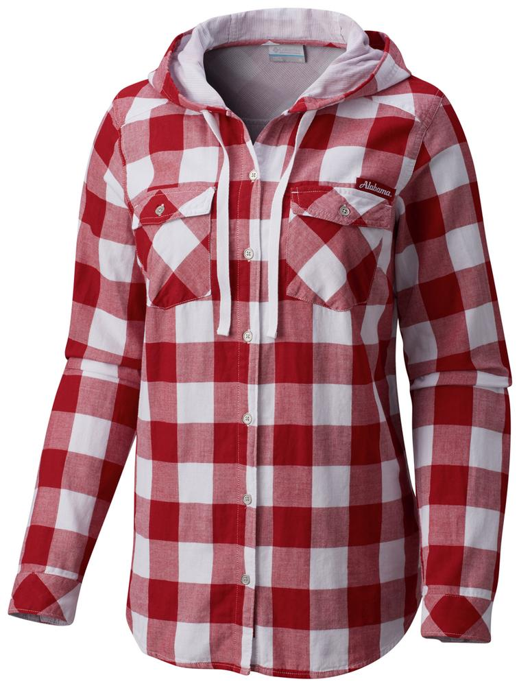 Alabama Columbia Women's Times Two Hooded Long Sleeve Shirt